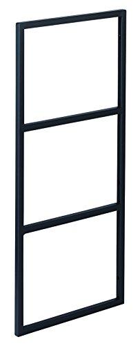 ウッドワン 棚柱用カナモノ カベツケ ブラック [高さ638mm] MKATK06-1-K