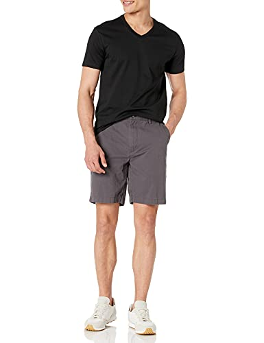 Amazon Brand - Goodthreads Men's The Perfect V-Neck T-Shirt Short-Sleeve Cotton, Black, Large