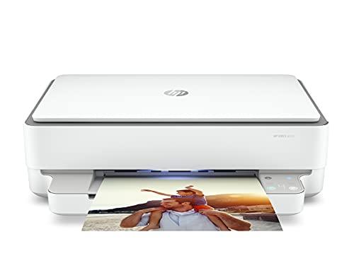 HP Envy 6032 - Impresora multifunción tinta, color, Wi-Fi, Bluetooth 5.0, compatible con Instant Ink (5SE19B)