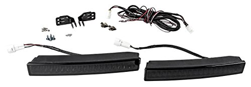 AUTOLIGHT 24 Black-Slim TAGFAHRLICHT 18 x 2 SMD LED R87 mit DIMMFUNKTION V1