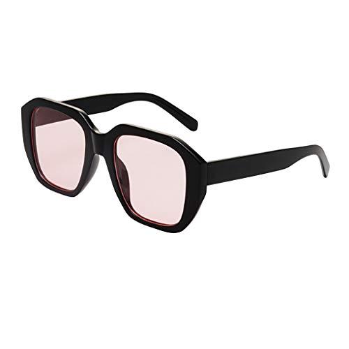 FRAUIT Occhiali Da Sole Rettangolari Occhiali Da Sole Donna Grandi Occhiali Da Vista Ragazza Vintage Occhiali Retrò Protezione Dalle Radiazioni Alla Moda