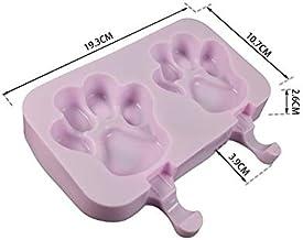 MINGTAI New Silicone Ice Cream Mold Popsicle Molds Homemade Cartoon Ice Cream Popsicle Ice Pop Maker Mould (Color : 02)