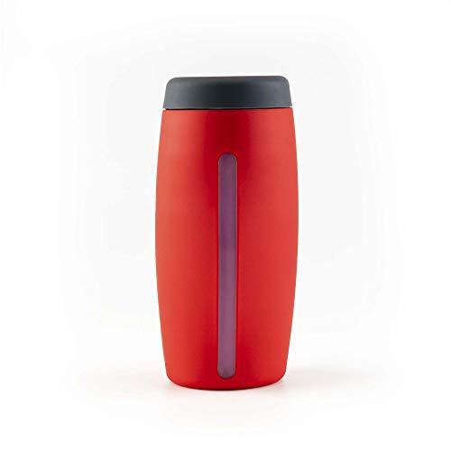 Kochblume - Dosierspender Seifenspender Spülmittelspender Duschgelspender Cookline (rot)