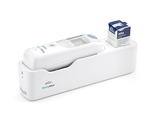 Welch Allyn 06000-300 Braun ThermoScan PRO 6000 Ear Thermometer with Large Cradle