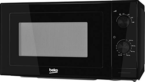 Beko MOC20100B micro-onde Comptoir - Micro-ondes (Comptoir, Micro-ondes uniquement, 20 L, 700 W, Rotatif, Noir)