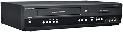Emerson ZV427EM5 DVD/VCR Combo DVD Recorder and VCR Player With HDMI 1080p DVD/VHS, Progressive Scan Video Out, 5-Speed for Up to 6-hours Recording product image