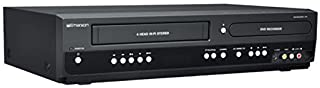 Emerson ZV427EM5 DVD/VCR Combo DVD Recorder and VCR Player With HDMI 1080p DVD/VHS, Progressive Scan Video Out, 5-Speed fo...