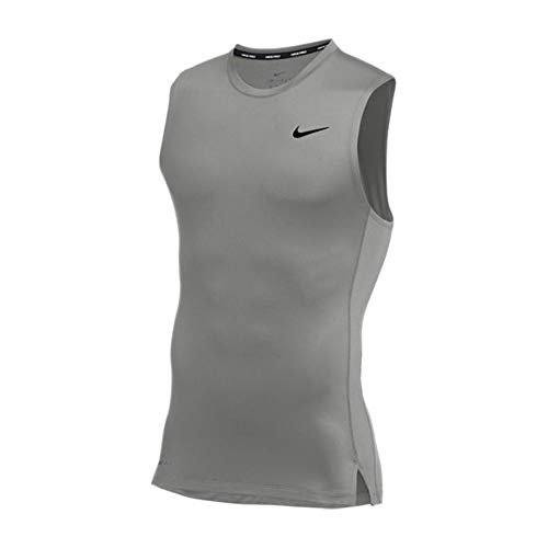 Nike Pro Sleeveless Compression Top Grey L