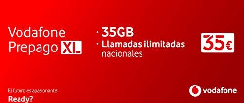 Vodafone Prepago XL 50 GB (35 GB + 15 GB Gratis) + Llamadas Ilimitadas
