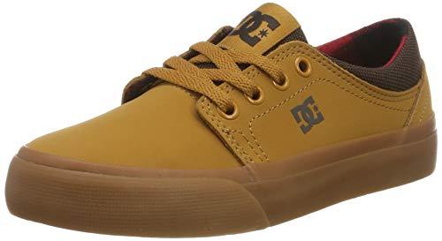 DC Shoes Jungen Trase Se-Shoes for Boys Skateboardschuhe, Wheat, 37 EU