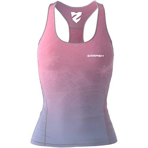 SMMASH Spiritual Sport Top Tank para Mujer, Camiseta de Tira