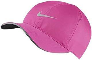 97f5e9a64ad66d Nike Feather Light Adjustable Closure Graphic Dri-Fit Pink Cap (AR1998-686)