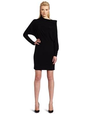 KAMALIKULTURE Women's All In One Dress, Black, Medium