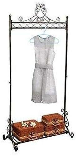 Barre de RangeHommest en métal pour Couloir, Couloir, Style Vintage, Couloir, Manteau, Chaussures, Bronze