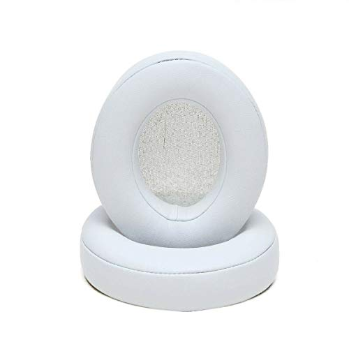2X Replacement Ears Cup Cushion Ear Pad for Beats by dr dre 2.0 Studio Wireless - {White}