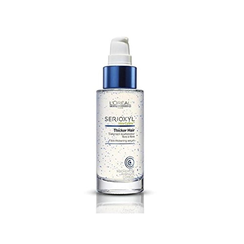 力学眠っている選択するL'Oreal Professionnel Serioxyl Thicker Hair Treatment (90ml) (Pack of 6) - ロレアルのプロフェッショナルが厚いヘアトリートメント(90ミリリットル)を x6 [並行輸入品]