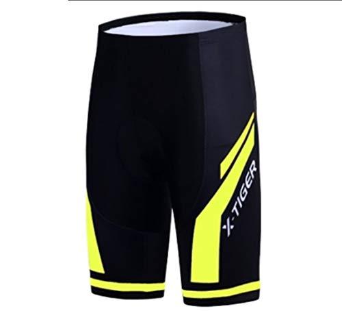NGHSDO Cycling Shorts Men Anti Slip Padded Gel Bike Mtb Shorts Mountain Bicycle Classic Shockproof Short Pants Cycling Short (Color : Shorts1, Size : 5XL)