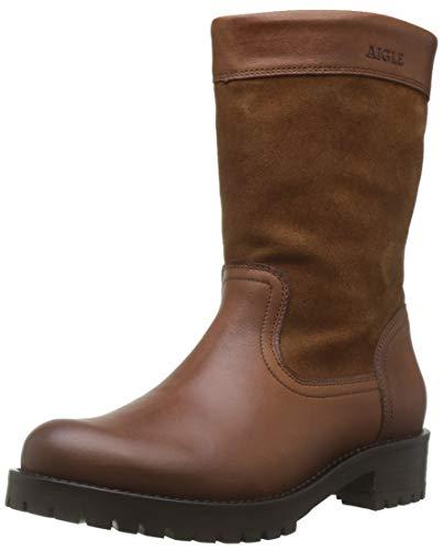 Aigle Women's Lierzon Slouch Boots, Brown (Camel 001), 5.5 UK