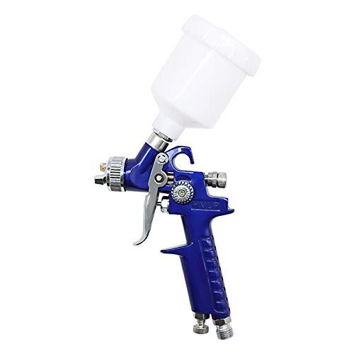 エアスプレーガン口径0.8/1.0mm HVLP 重力フィード エアブラシセットペイントスプレーヤー DIY 家具 塗装 バイク自動車補修 仕上げ ペイント スポット修理 スプレーャー (1.0mm)