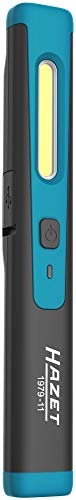 HAZET LED Pen Light (kabelgeladen, Top-Licht 120, Hauptlicht bis zu 200 Lumen, Ladedauer: 2h, Länge: 180 mm) 1979-11, schwarz-blau