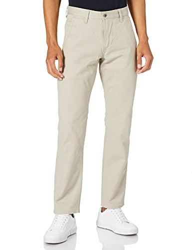 Dockers Alpha Original Khaki Slim - Stretch Twill, Pantalones Hombre, Beige (Safari Beige), W34/L34