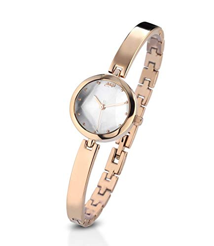 Didofà DF-101B - Reloj de Mujer de Acero Rosa