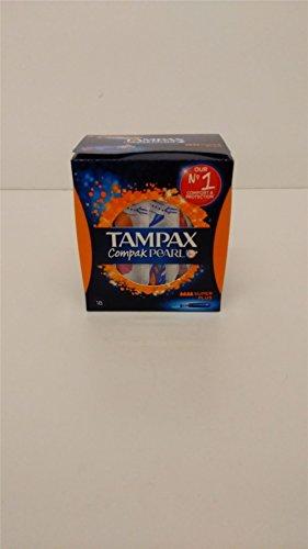 Tampax Compak Pearl Super Plus–4Pack 4x 18tampones