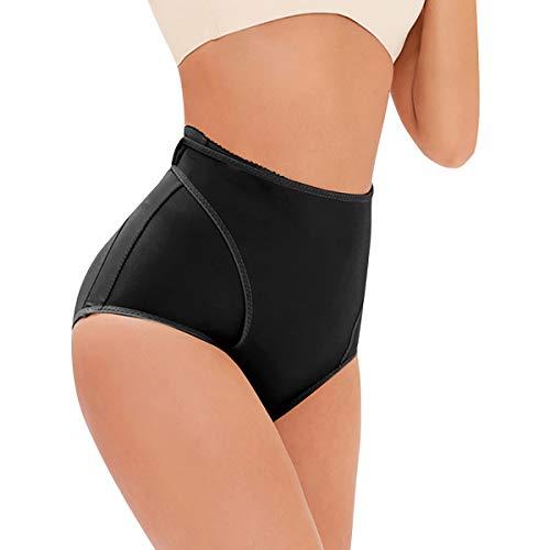 TOPMELON Shapewear Thong High-Waisted Girdle Fajas Body Shaper Tummy Control Panty Brief