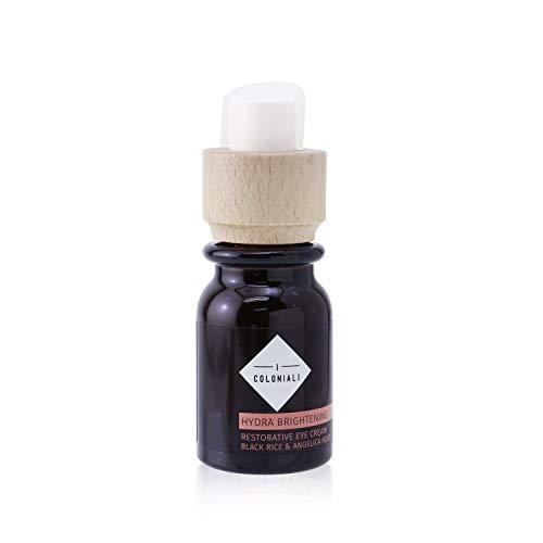 Crema Contorno de Ojos rico en ingredientes hidratantes y antienvejecimiento 15ml, Crema Reafirmante de Ojos con Acido Hialuronico