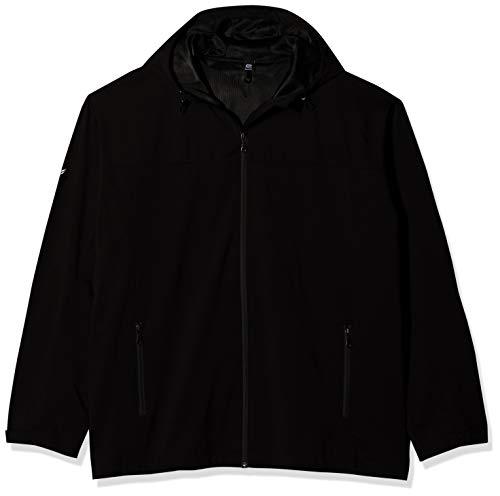 Trigema Herren Leichte Regen-Jacke Regenmantel, Schwarz (schwarz 008), Medium