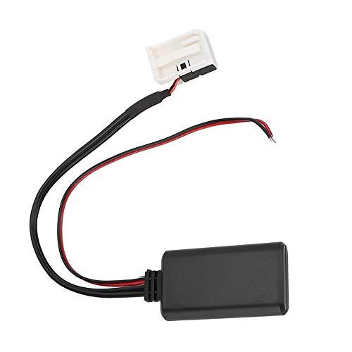 Adaptador Bluetooth, adaptador Bluetooth de 12 pines Cable auxiliar de audio apto para Mer-cedes Ben-z 16 Audio 20 30 50 APS/A-W169 B-W245 C-W203 & CLK-W209 04/04 ~ M-W164