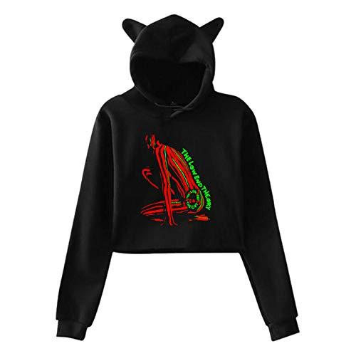 Low End Theory Lightweight Hoodie Women's Cat Ear Hoodie Sweater Hoodie Large