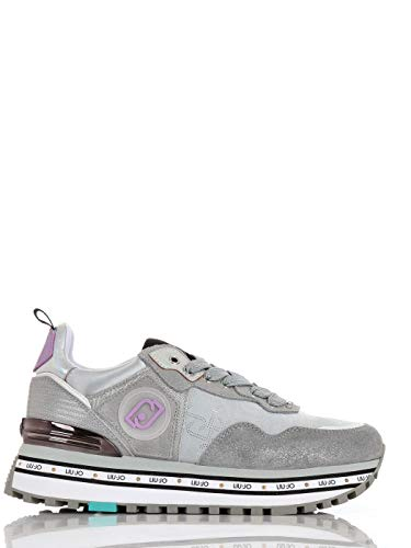 Liu Jo Maxi Wonder Scarpe Liu Jo Donna Sneakers Silver (40)