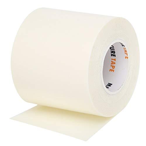 Sports Medical Tape - Selbstklebendes Bandagenband Wasserdichte kohäsive Bandagen für Erste Hilfe, Sportschutz und Handgelenk, 5 cm x 3 m, weiß