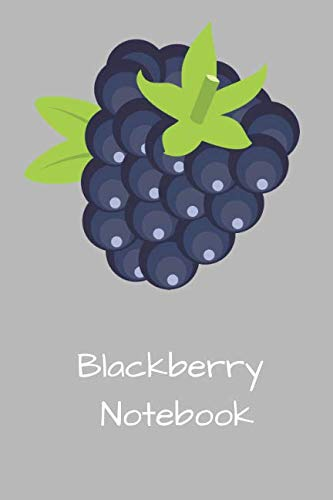 Blackberry Notebook: Squared Notebooks for Everybody, Sketch, Calculate, Drawing and Writing, (110 Pages, Squared, 6 x 9)(Fruity Notebooks)