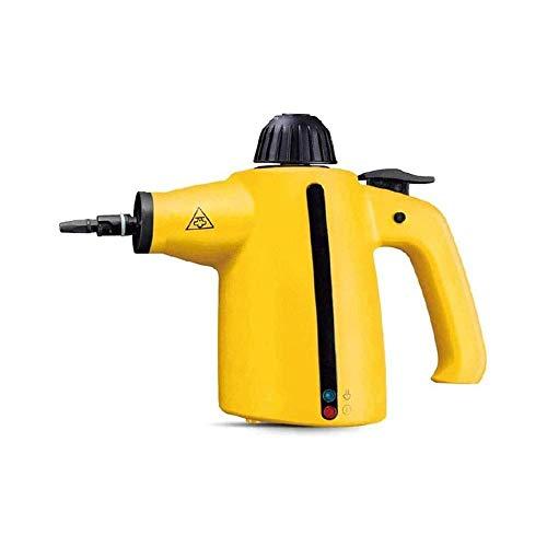 Liuchang20 - Limpiador a vapor con 9 accesorios - Multisuperficie y multi-superficie, limpieza de vapor natural sin productos químicos para el hogar, coche, terraza, más