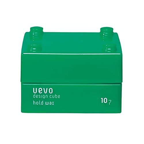 ウェーボ デザインキューブ (uevo design cube) ホールドワックス 30g ヘアワックス 30グラム (x 30)
