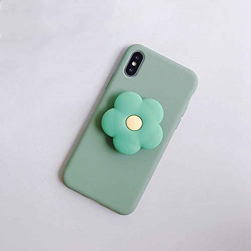 3D Cute Flower Cartoon Soft Phone Hülle für iPhone X XR XS 11 Pro Max 6S 7 8 Plus Halter Abdeckung für Samsung S8 S9 S10 A50 Note 8 9, J, für A50