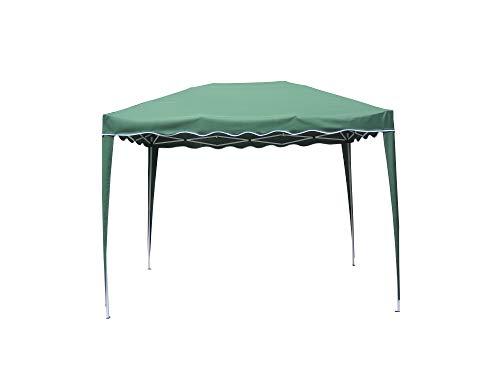 Bricogarden - Cenador plegable, 3 x 2 m, color verde