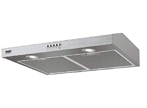 Krona Steel/JESSICA Slim 600 / Unterbauhaube/Dunstabzugshaube Edelstahl 60 cm, Abluft/Umluft Betrieb, inkl Aktivkohlefilter/max. Abluftleistung bis zu 350 m³/h (JESSICA Slim 600 Inox)