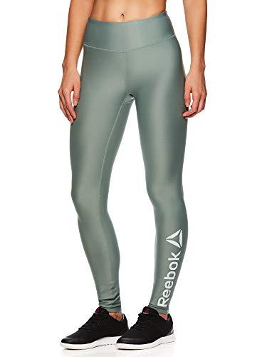 Reebok Damen legging ganzkörper leistung compression hosen groß chinese grün grün