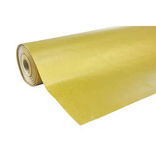Clairefontaine 507575C - Une bobine papier cadeau Unicolor 50mx0m70, Or
