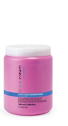 Inebrya Ice Cream Light Blue Conditioner Balsamo - 1000 Ml