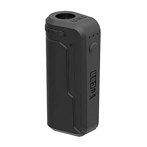 Yocan UNI Patented Universal Portable Battery Device with Adjustable Voltage, Height, and Diameter (Black)