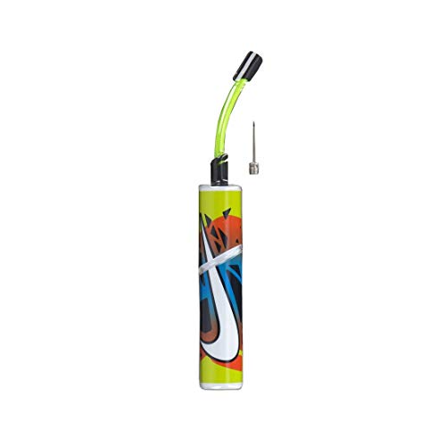 Nike Unisex– Erwachsene Essential Ballpumpe, Volt/Obsidian/White, One Size