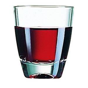 Arcoroc, model Granity - set met 24 platte glazen, 5 cl, voor likeuren en magenbitter, voor cocktailbars en cafés, model: GIN cod.9412