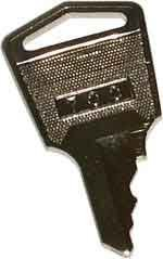 Time Clock Key mjr-7000, mjr-8000Tcx by amano