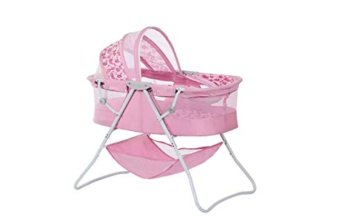 Lowest Price! Double Canopy Foldable Bassinet