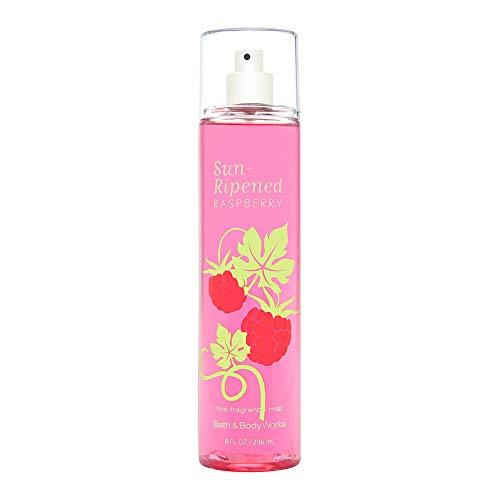 Bath & Body Works Sun-Ripened Raspberry Fine Fragrance Mist, 8.0 Ounce