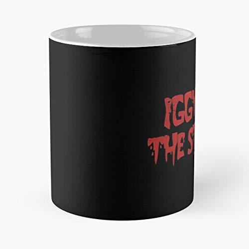 Desconocido Lou Stooges 1969 Music Punk Pop Reed Velvet Taza de café con Leche 11 oz